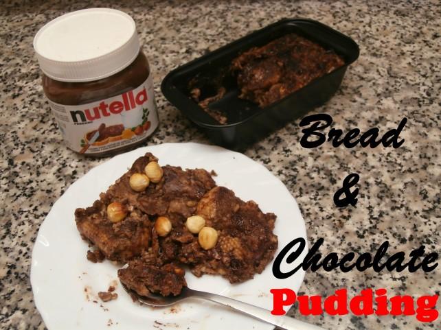 Budin de pan y chocolate - Recetas con pan duro